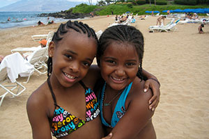 Maui kid friendly rentals